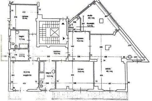 olanimetria appartamento via rossini piombino